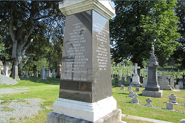 New this summer: Guided Tours of Catholic Cemeteries for the Halifax Explosion